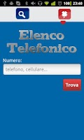 Screenshot of Elenco Telefonico free