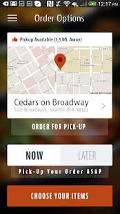 Cedars on Broadway - screenshot