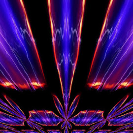 by Gene Hite - Digital Art Abstract
