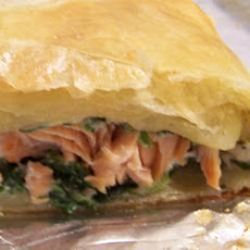 Salmon And Spinach En Croute