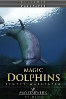 Screenshot of Dolphin Wallpaper FREE