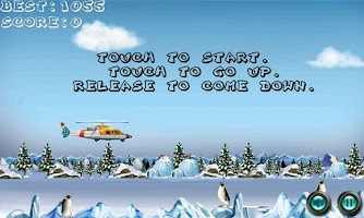 Screenshot of Copter Escape FREE