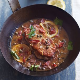 Pork Scaloppine with Prosciutto and Capers