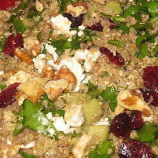 Quinoa Salad with Dried Cranberries and Feta