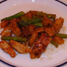 Sweet Pork Stir Fry