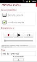 Screenshot of SFR Business Répondeur +