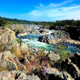Great Falls, VA by Tyrell Heaton - Landscapes Caves & Formations ( great falls, iphone )