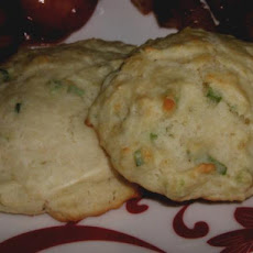 Green Onion Drop Biscuits