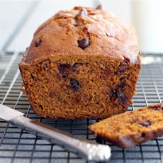 The Most Amazing Pumpkin-Chocolate Chip Loaf Bread