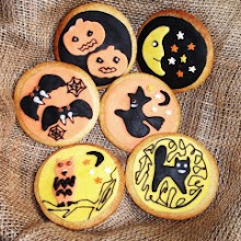 Children's Halloween Biscuit Decorating