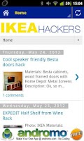 Screenshot of IKEA Hacks