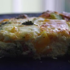 Lazy Day Brunch Casserole (Crustless Quiche)