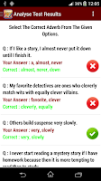Screenshot of English Grammar Practice