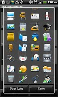 Screenshot of Buttonish - Crazy Icon Pack