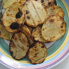 Grilled Vinegar Potatoes (adapted from Martha Stewart Living Magazine)