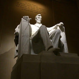Lincoln Memorial by Todd Reynolds - Buildings & Architecture Statues & Monuments