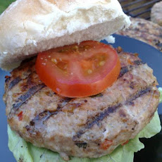 Summertime Cheesy Turkey Burgers
