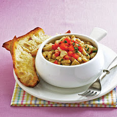 Tuscan-Style Tuna with White Beans