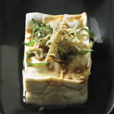 Chilled Tofu with Crunchy Baby Sardines Recipe