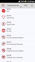 Screenshot of Señales Tránsito Colombia