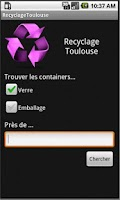 Screenshot of Recyclage Toulouse