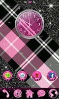 Screenshot of GO Theme Glitter Pink Leopard