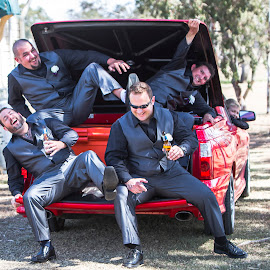 Boys just wanna have fun by Kathryn Cherry - Wedding Groups (  )