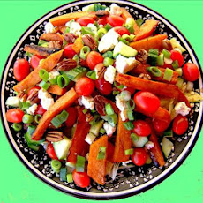 Aunt Baby's Iceberg Health Salad With Roasted Butternut