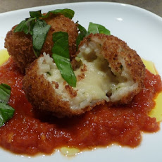 Arancini - Rice Balls (or best dish with risotto leftovers)
