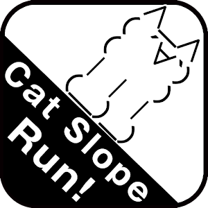 Cat slope run and jump!