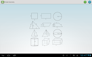 Screenshot of Pocket Geometry