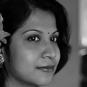 by Saptarshi Datta - Black & White Portraits & People