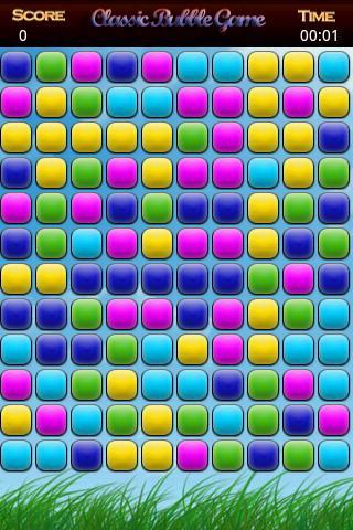 Classic Bubble Game