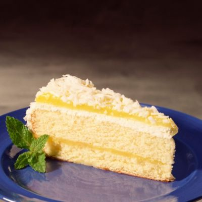 Lemon Cake with Cream Cheese Frosting