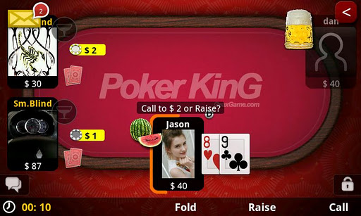 poker-king-online-texas-holdem for android screenshot