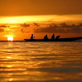 by Brandon Mardon - Landscapes Sunsets & Sunrises ( tumon bay guam )