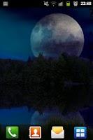 Screenshot of Forest Lake Live Wallpaper