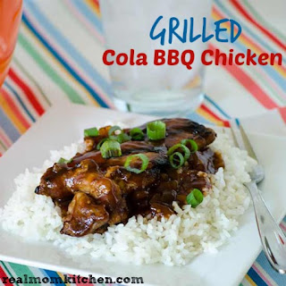 Grilled Cola BBQ Chicken