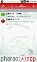 Screenshot of pharao.app