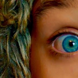Eye by Robert Kiss - People Body Parts ( blue, blue eyes, kids, people, eye )