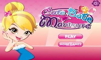 Screenshot of Cute Babe Maricure
