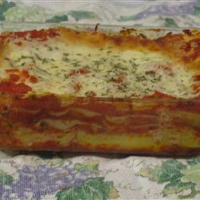 Three Cheese Lasagne