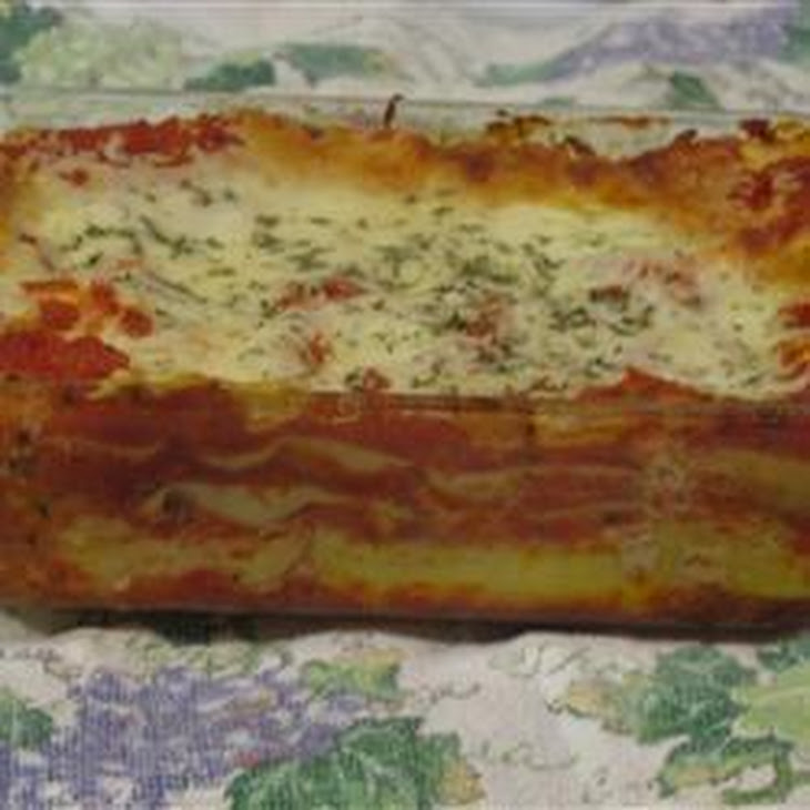 Three Cheese Lasagne Recipe | Yummly