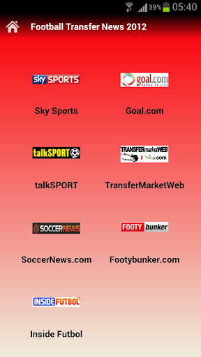 Football Transfer News 2012