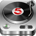 DJ Studio 5 - Free music mixer for Lollipop - Android 5.0