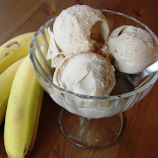 Creamy Vanilla Coconut or Banana Ice Cream (Dairy & Soy Free