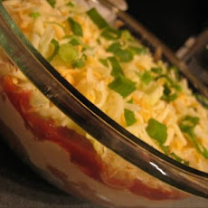 Lighter Layered Mexican Dip