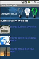 Screenshot of Do-It-Yourself Energy Audit