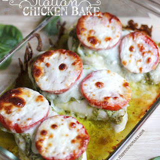 {Easy Dinner Recipe} Italian Chicken Bake