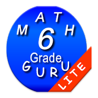 Screenshot of Sixth Grade Mathematics Guru